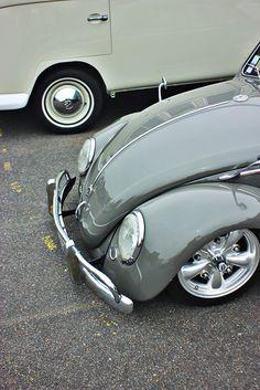 Early VW Bug #platinumrydez