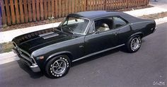 69 Nova Super Sport. My dream car. It is my goal to build one from the frame up!