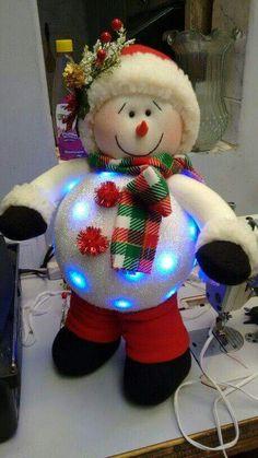 Boneco de Neve Luz