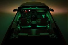 2010 Ford Mustang Convertible Color Changable Ambient Interior Lighting