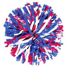 Three Color Mix Plastic Show Pom by Cheerleading Company