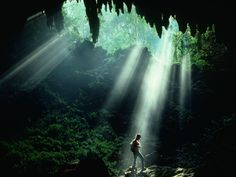 The Camuy River Cave Park is a cave system in Puerto Rico. It is located between the municipalities of Camuy, Hatillo and Lares in northwestern Puerto Rico, but the main entrance to the park is located in Quebrada, Camuy.