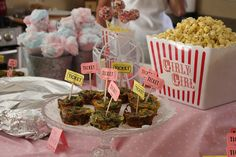 Carnival themed baby shower!