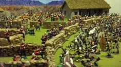 Creating The Battle of Rorke's Drift.  The approaching Zulu force was vastly larger; the uDloko, uThulwana, inDlondo amabutho (regiments) of married men in their 30s and 40s and the inDlu-yengwe ibutho of young unmarried men mustered 3,000 to 4,000 warriors, none of them engaged during the battle at Isandlwana.  This Zulu force was the 'loins' or reserve of the army at Isandlwana and is often referred to as the Undi Corps.