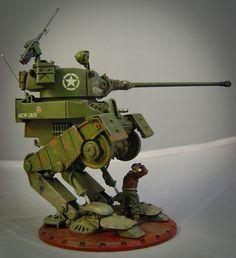 Dust Tactics Allies Medium Walker