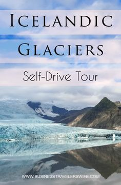 Our adventure would not be complete without a self-drive tour of the glaciers in Iceland. This will certainly give you a whole new understanding of ICEland. Iceland Roads, Iceland Glacier, Iceland Travel Tips, Tours In Iceland, Reykjavik Iceland, Travel Tours, Travel Destinations, Travel Hacks, Iceland Adventures