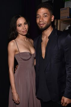 """celebritiesofcolor: """"Jurnee Smollet-Bell and Jussie Smollett attend the 47th NAACP Image Awards presented by TV One at Pasadena Civic Auditorium on February 5, 2016 in Pasadena, California. """""""