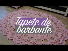 75 Modelos de Tapetes de Barbante para Inspirar Shag Carpet, Diy Carpet, Crochet Stitches For Blankets, Crochet Videos, Carpet Runner, Crochet Doilies, Diy Painting, Floor Rugs, Erika