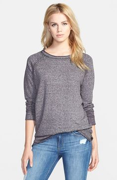 Free shipping and returns on Stem Long Sleeve Raglan Tee at Nordstrom.com. Reverse seams and raw-edge construction prep this lightweight, long-sleeve tee for blissful weekend relaxation.
