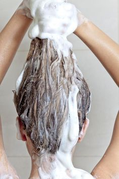 There is no need to shampoo all the way down to your ends - instead concentrate on the scalp