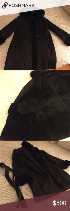 Shearling coat from Bloomingdales Excellent condition. Wore it a few times maximilian Jackets & Coats Pea Coats