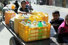 Entire communities in the West Bank either have no access to water or have had their water supply reduced almost by half.    This alarming development has been taking place for weeks, since Israel's n...