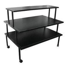 Black Steel Rolling Table Retail Resource https://www.amazon.com/dp/B00T83OXE4/ref=cm_sw_r_pi_dp_6dwIxbR90MMVG