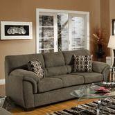 """Simmons Upholstery""""Mink Full Bed Sleeper Sofa"""