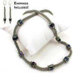 Garden Path Necklace Bead Weaving Kit - Beads Gone Wild