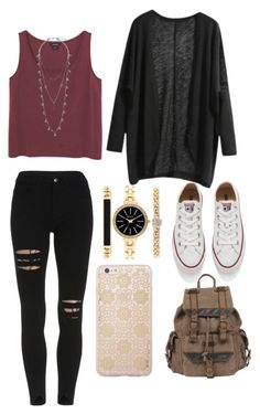 """""""Date might under the stars"""" by bep2002 ❤ liked on Polyvore featuring Monki, Converse, Wilsons Leather, Style & Co., Lucky Brand, Sonix, women's clothing, women, female and woman"""