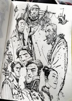 Ian McQue on Twitter: Sketchbooking: http://t.co/A3TdoBqjVU