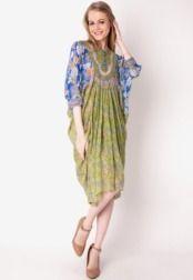 Danar Hadi  Long Dress Pelangi Batik