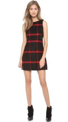 Jolie Leather Side Dress #poachit