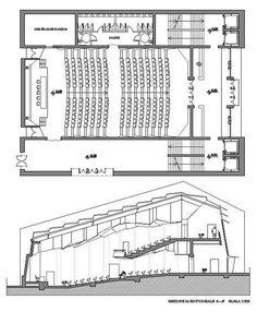 Konferans Salonu Çizimi: 5+ DWG Konferans Salonu Projesi | Çiziktirik