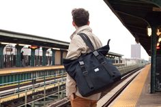 Buy the Tack Day bag by SSCY. The Tack Day is a tote bag that converts to a backpack. Perfect for a day out or urban bike commuters.