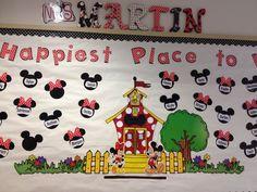images about Disney Theme – Education & Career Disney Bulletin Boards, Birthday Bulletin Boards, Preschool Bulletin Boards, Kindergarten Classroom, Bullentin Boards, Mickey Mouse Classroom, Disney Classroom, Classroom Themes, Future Classroom