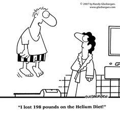 SparkPeople Funnies - Helium diet