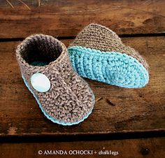 slipper boots pattern