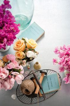 Decorating with flowers in the home