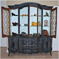 Me and Pauline… A Hutch Refinished in Mustard Seed Milk Paint! :D Milk Paint Black Painted Furniture, Fine Furniture, Furniture Design, Painted Hutch, Miss Mustard Seeds, Milk Paint, Bohemian, Bedroom, Building