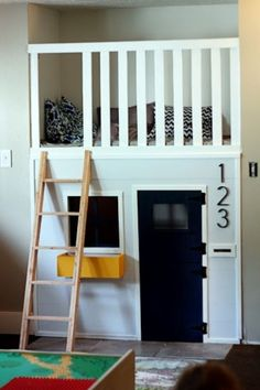 mini home in those odd spaces in your home that you never know what to do with.. great for kids playtime/naptime their own lil get away
