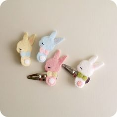 Bunny Barrette and Brooch Tutorial || Gingermelon Dolls