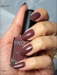 Kiko Make Up Milano '373 Burnt Sienna' Nail Lacquer