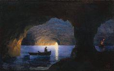 Azure Grotto. Naples - Ivan Aivazovsky