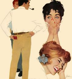 Joe Bowler showing us that women have always laughed at men...