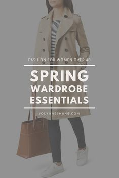 2018 Spring Wardrobe Essentials: These are pieces that are on trend this spring and will provide a basic foundation for your spring wardrobe. This list is certainly not exhaustive, but it should be a good starting point for most of us. #fashion #springfashion