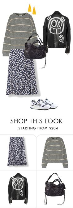 """""""Untitled #311"""" by frederikkematilder ❤ liked on Polyvore featuring New Balance, Acne Studios, Martin Grant, Balenciaga and H&M"""