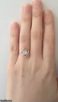 Radiant cut diamond engagement ring | Mociun Custom