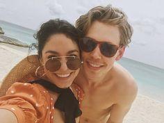 Austin Butler's family - partner Vanessa Hudgens