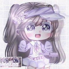 Chibi, Youtube Channel Art, Heart Melting, Wallpaper Iphone Cute, Me Me Me Anime, Cute Girls, Aesthetics, Fan Art, Drawings