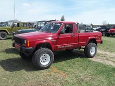 Jeep Suvs, Jeep Xj, Jeep Truck, Jeep Wrangler, Comanche Jeep, 1999 Jeep Cherokee, Jeep Garage, 2013 Jeep, Jeepers Creepers