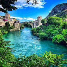 Bosna Hersek - Mostar  Fotoğrafı gönderen: Hüseyin Bey