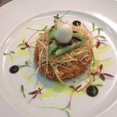 Smoke haddock and leek fish cake #foodporn#foodlover#finedining#chef#gourmet#michelinstar#truecooks#chefstalk#theartofplating#chefsofinstagram #chefs#thestaffcanteen by chef_aurel