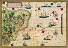 Brazil, Atlas Miller 1519