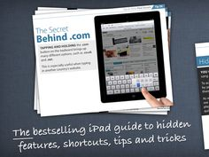 Eric Sailers SLP: iPad Secrets App-great guide with tips and tricks for iPad beginners. Pinned by SOS Inc. Resources. Follow all our boards at pinterest.com/sostherapy for therapy resources.