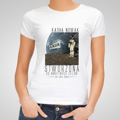 Koszulka personalizowana damska AMBITNA