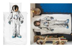 Astronaut Pillow and Duvet Cover by Gosto design & lifestyle