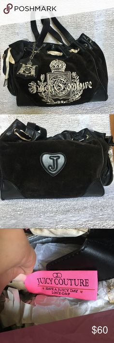Juicy Couture DayDreamer Bag Juicy Couture DayDreamer Bag! •Authentic  •Great Condition  •Velour Juicy Couture Bags Shoulder Bags