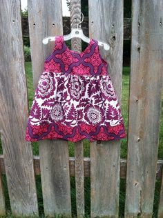 Fall Boutique girls jumper size 3 months 8 by PersonalizedforyouKY, $35.00 Fabric by Joel dewberry heirloom