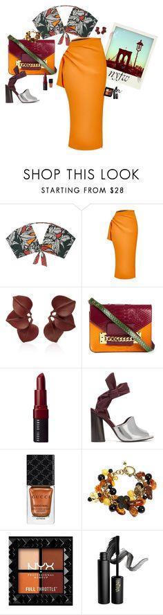 """Autumn color"" by claire86-c on Polyvore featuring moda, Água de Coco, Polaroid, Maticevski, Vanda Jacintho, Sophie Hulme, Bobbi Brown Cosmetics, 3.1 Phillip Lim, Gucci e INIKA"